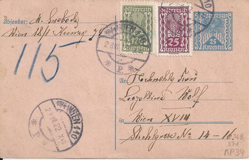 """Postkartenserie """"Quadratischer Wertstempel - Wertziffer im Dreieck"""" 1922-24 - Seite 5 Bild_512"""