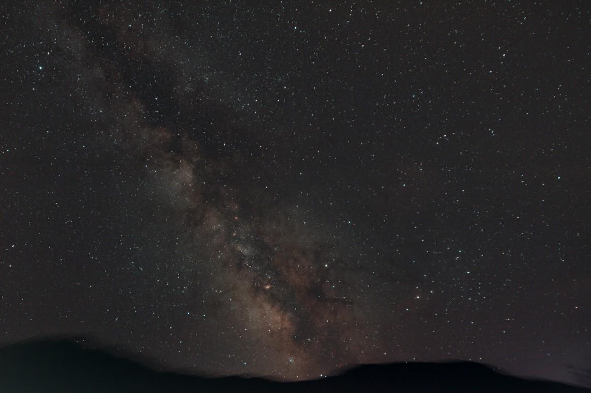 Voie lactée sous un ciel montagnard Ourgal10