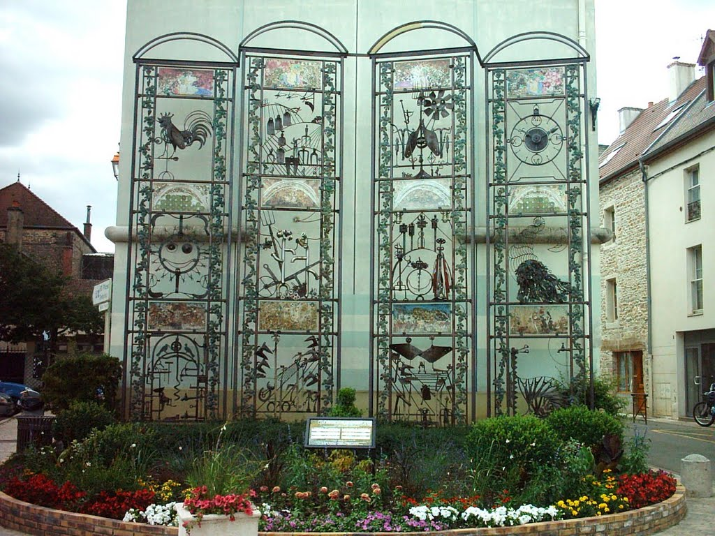 "Ls ""portes de la Saint Vincent"" - Gevrey-Chambertin - Côte d'Or - France 54440510"