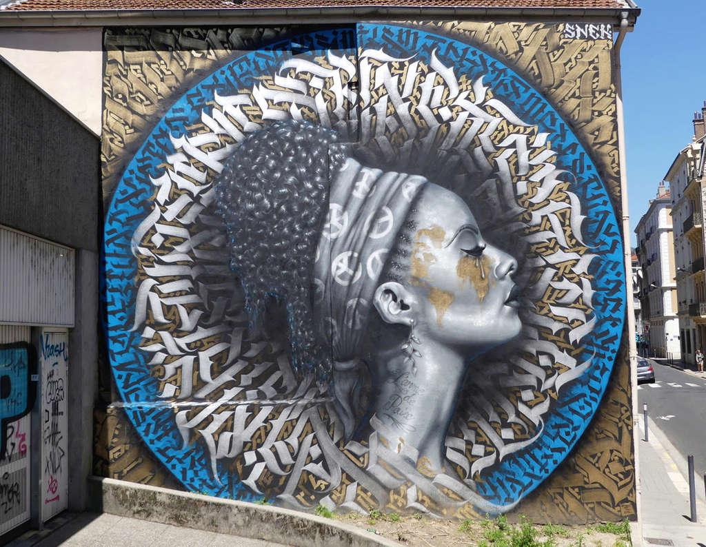 STREET VIEW : les fresques murales en France - Page 22 Larme-10