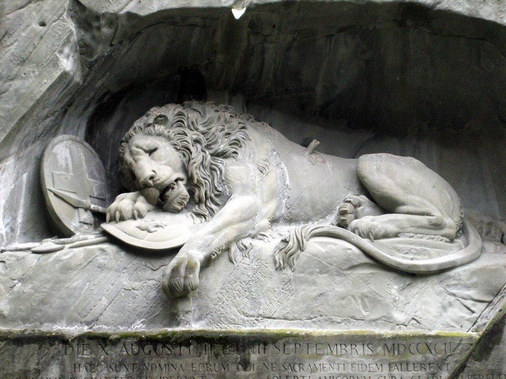Le Lion de Lucerne - Suisse Www119