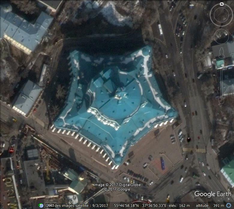 Théatre de l'armée rouge à Moscou - Russie Www30