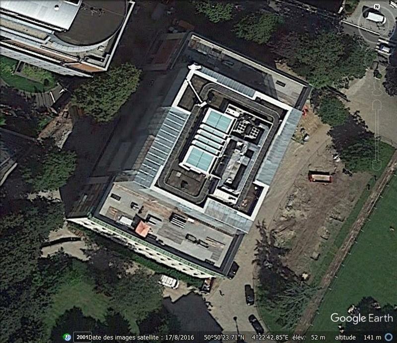 [Bientôt visible sur Google-Earth] Maison de l'Histoire Européenne - Bruxelles. Www510
