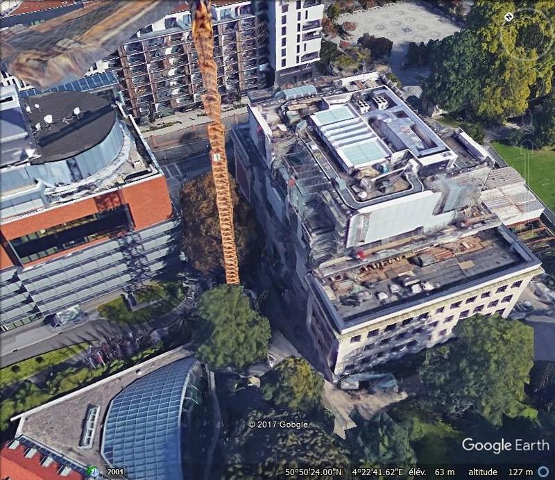 [Bientôt visible sur Google-Earth] Maison de l'Histoire Européenne - Bruxelles. Www610