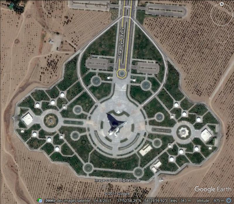 Arche d'Ashgabat - Turkménistan Www83