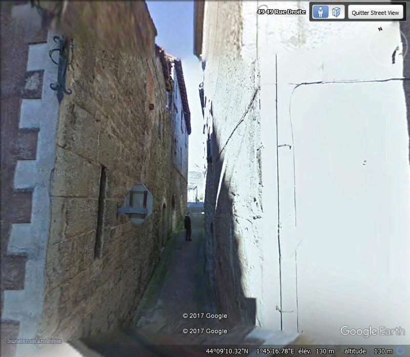 """Un """"STOP"""" pour piètons - Saint-Antonin-Noble-Val - Tarn et Garonne - FRance Www85"""