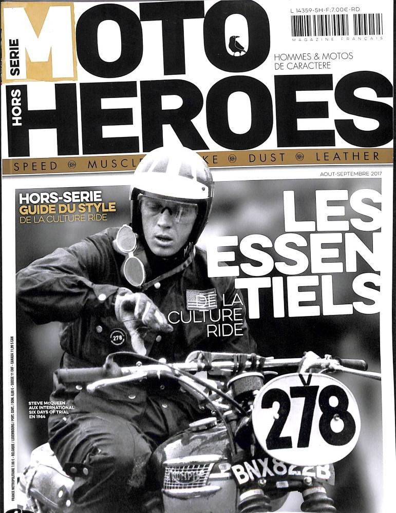 steve est dans le Moto Heroes hors série.... Mh10