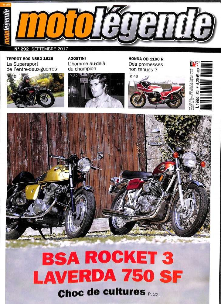 Moto légende:BSA Rocket 3 ,Ago.... Ml10