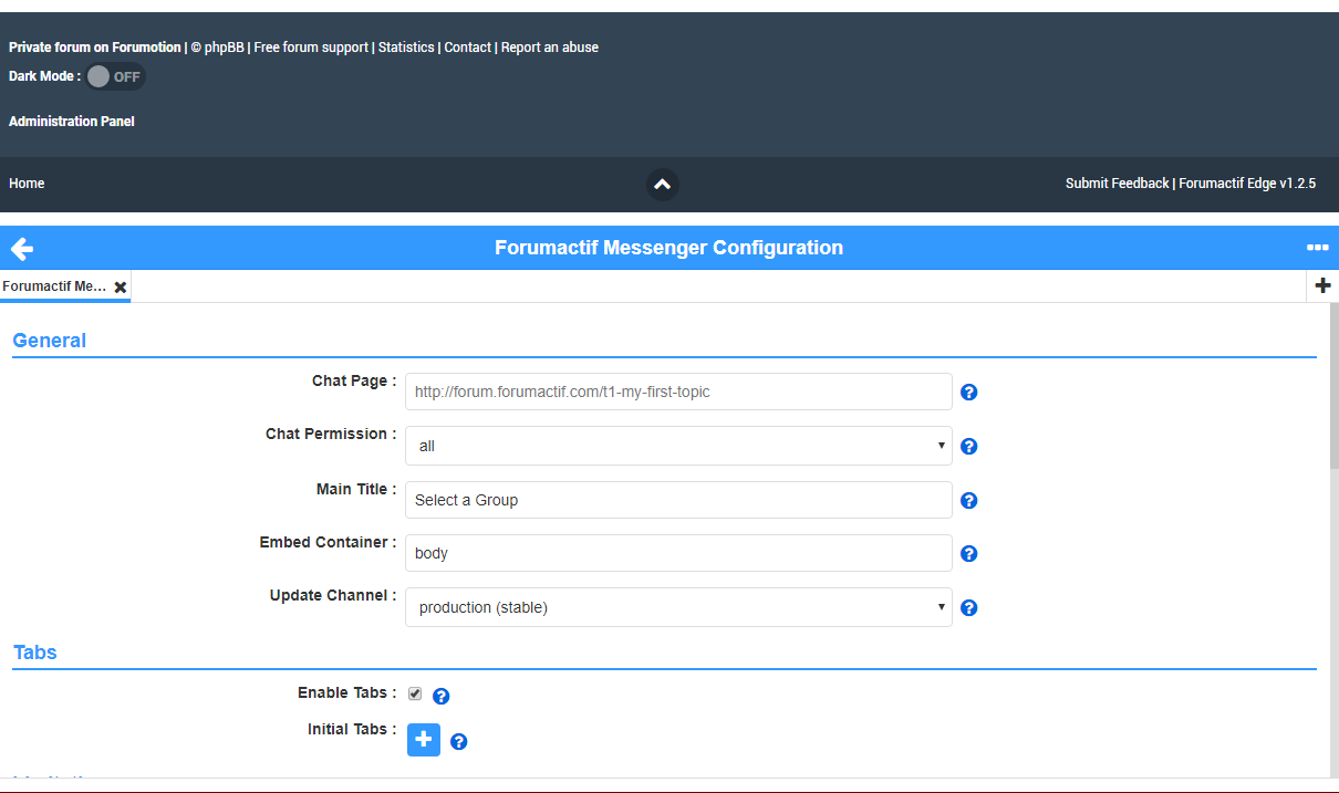 Forumactif Messenger - Instant Message Application for Forumotion Captur24
