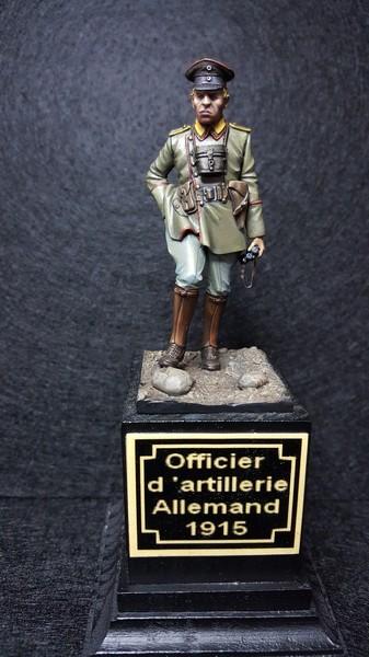 Officier d'Artillerie Allemand 1915 20170925