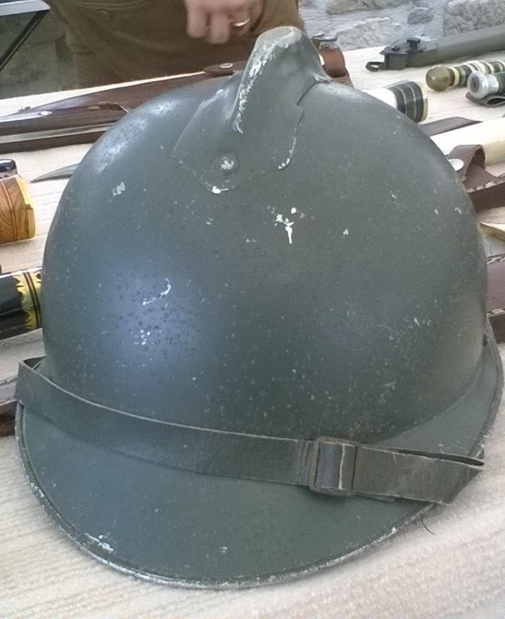 casque adrian aluminium pour officier? Wp_20116