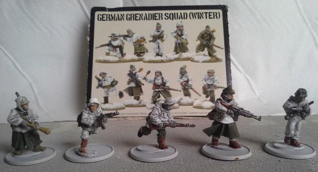 Panzer Lehr sous la neige Ardennes 44 Squad_11