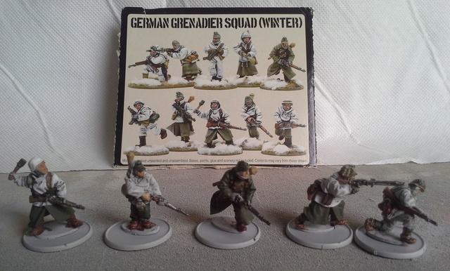 Panzer Lehr sous la neige Ardennes 44 Squad_12
