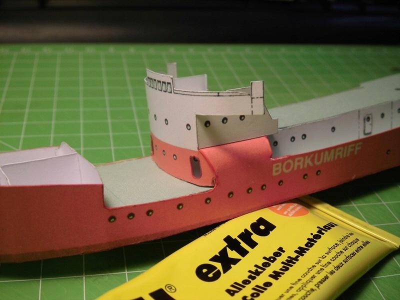 Feuerschiff Borkumriff  1:250  Cimg3210