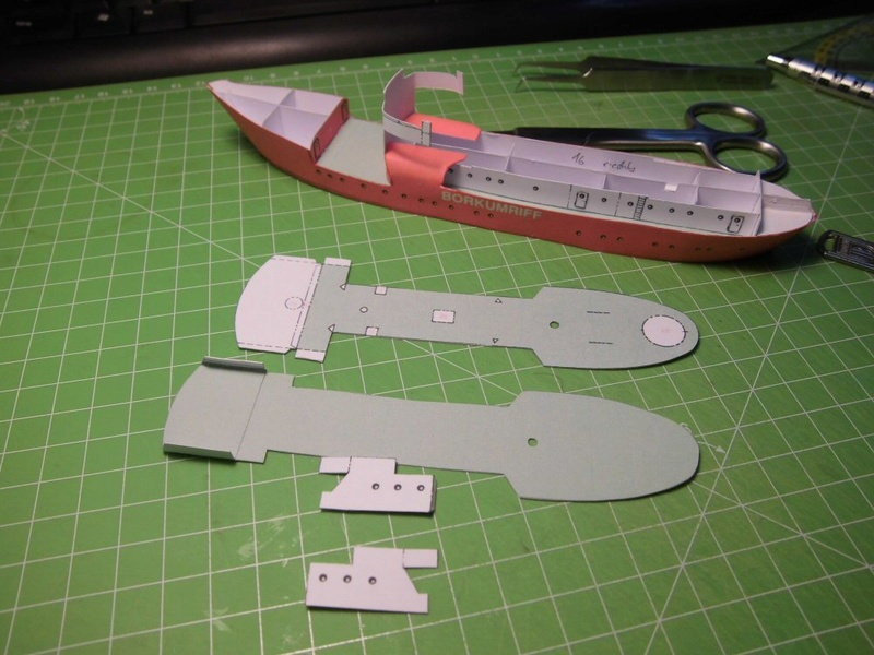 Feuerschiff Borkumriff  1:250  Cimg3212