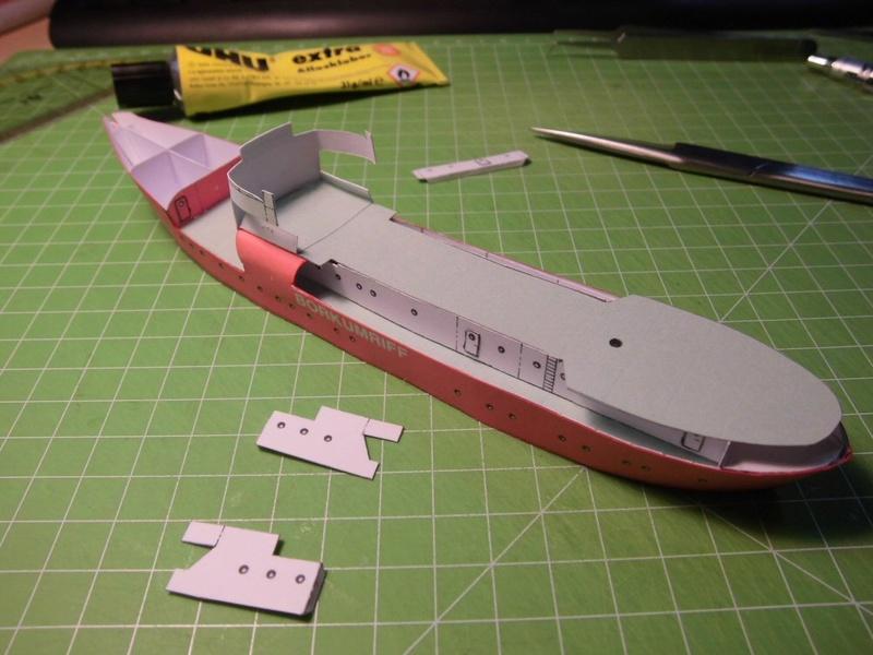 Feuerschiff Borkumriff  1:250  Cimg3213