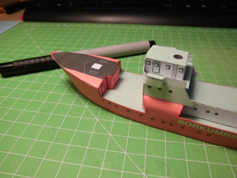 Feuerschiff Borkumriff  1:250  Cimg3214
