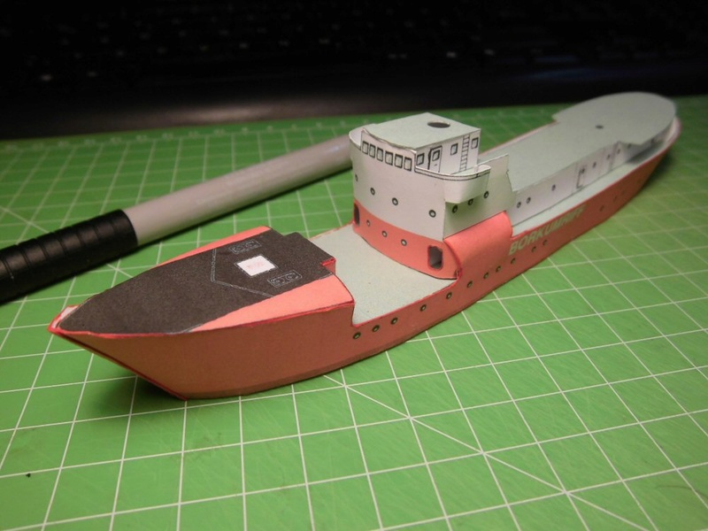Feuerschiff Borkumriff  1:250  Cimg3215