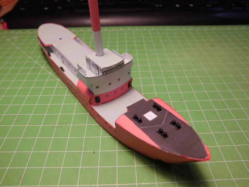 Feuerschiff Borkumriff  1:250  Cimg3217