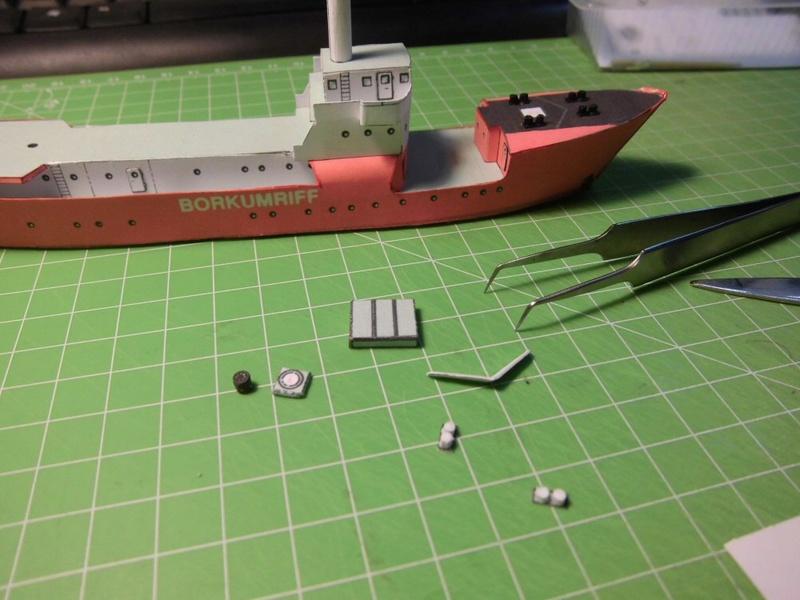 Feuerschiff Borkumriff  1:250  Cimg3221