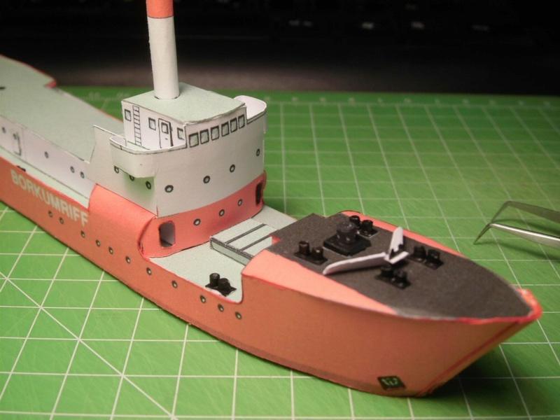 Feuerschiff Borkumriff  1:250  Cimg3222