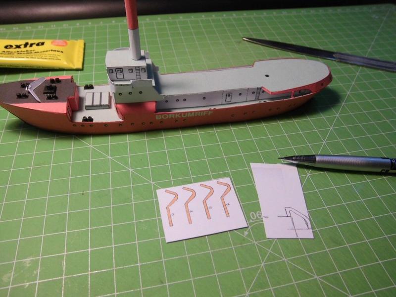 Feuerschiff Borkumriff  1:250  Cimg3225