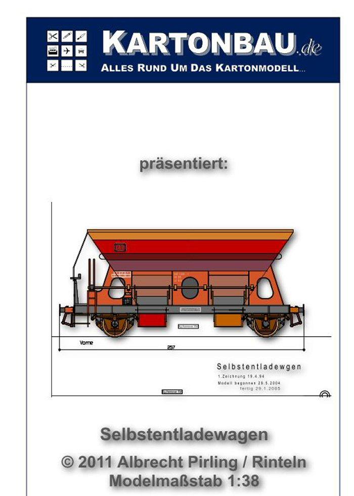 Selbstentladewagen  ca. 1:54 von A. Pirling Selbst10