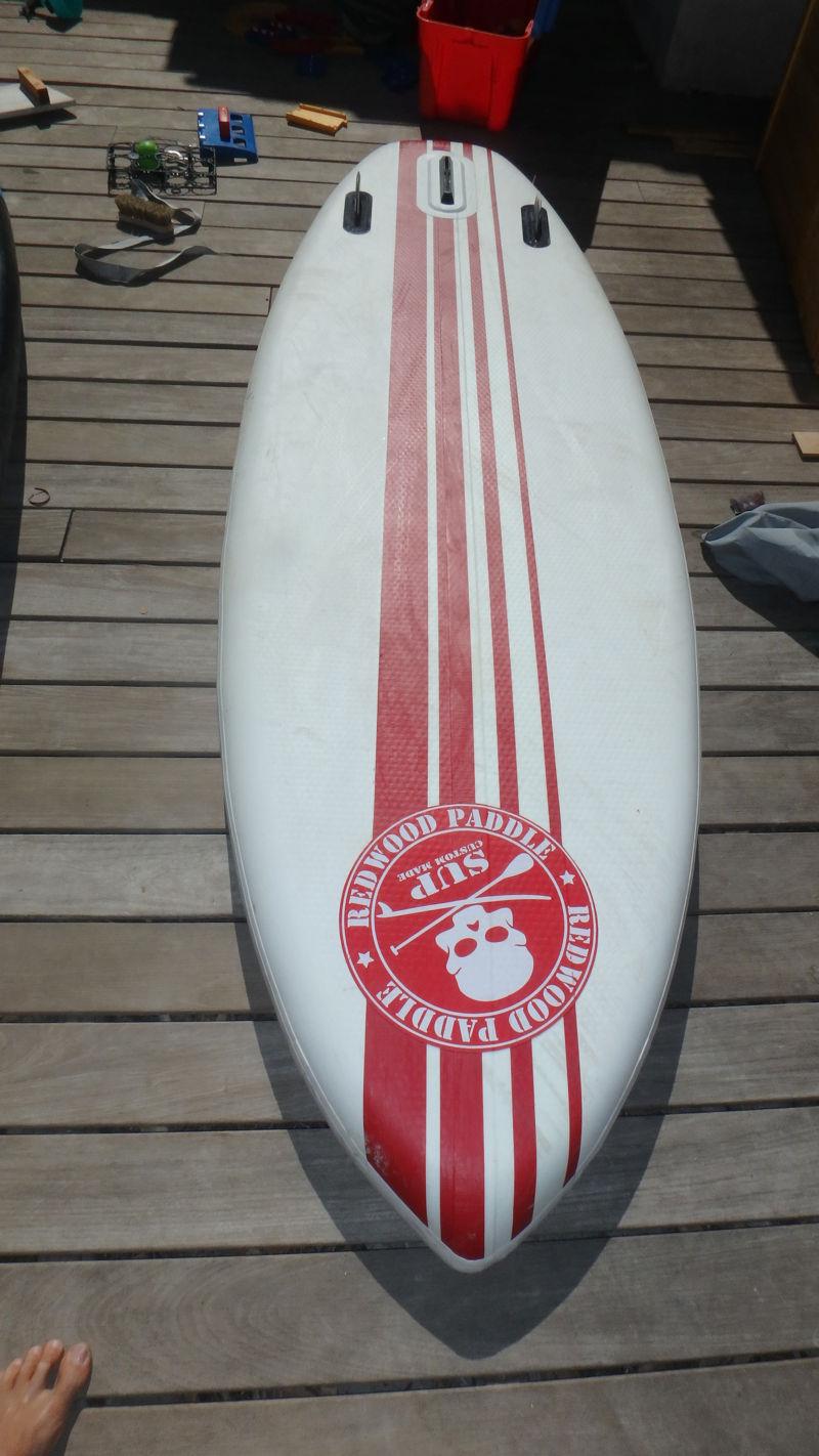 A vendre gonflable Redwoodpaddle 9'6 Pro, 35' de large - 290 euros P9201312