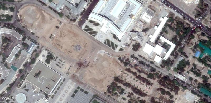 Arche d'Ashgabat - Turkménistan 201410