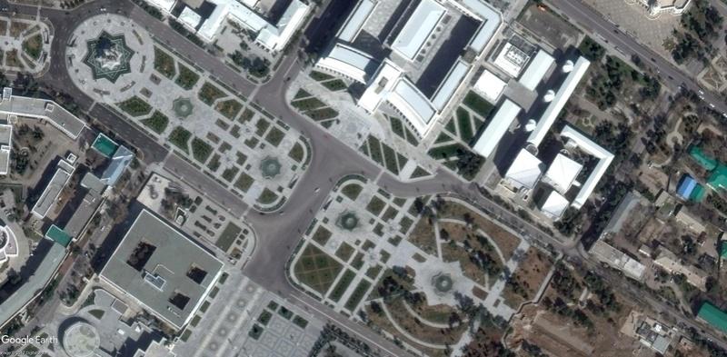 Arche d'Ashgabat - Turkménistan 201510