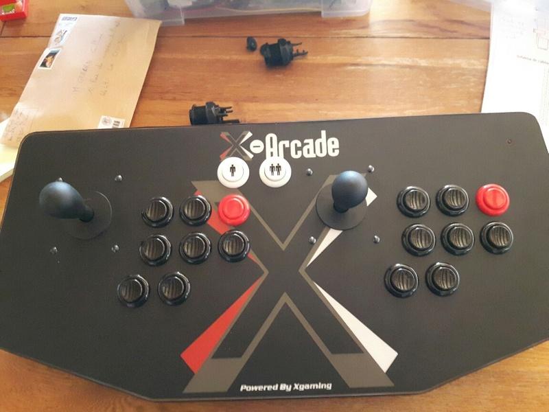 [WIP] 50% X-Arcade hack / Raspberry pi / borne arcade 2 en 1 one piece Img_2026