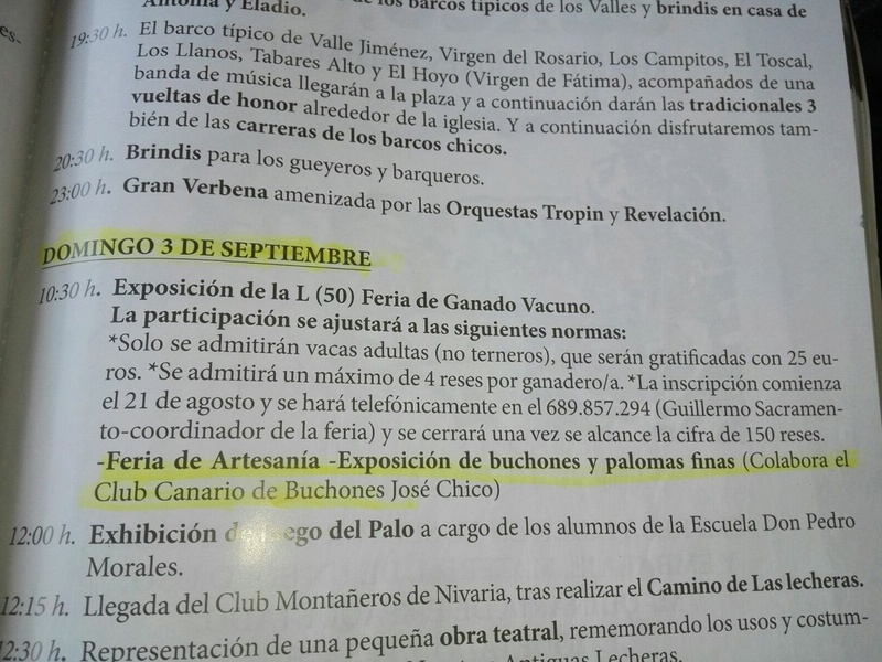 Exposicion de buchones en las Fiestas de Valle Jimenez 2017 21016010