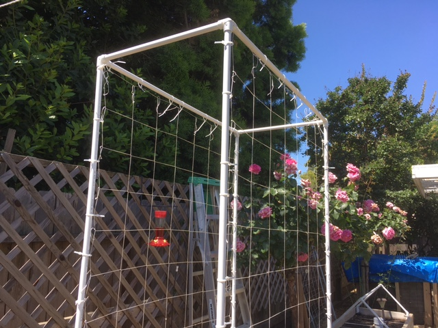 Grids: Colored PVC & Fittings Trelli10