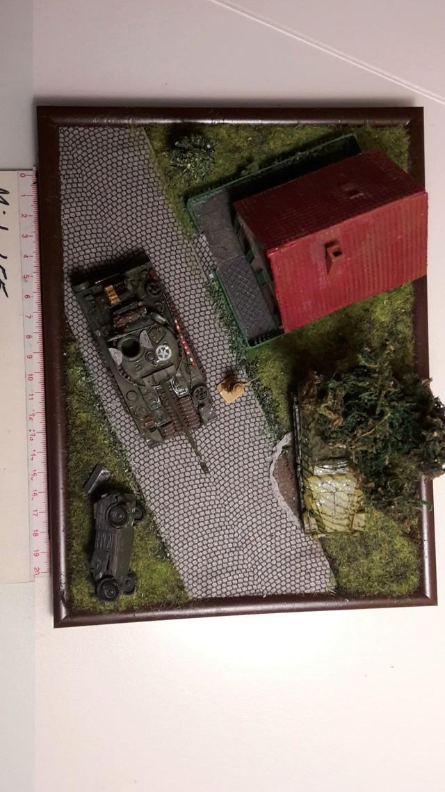"""Libération"" - Belgique 1944 --- Sherman Firefly (Armourfast 1/72) + Sd.Kfz 251 (Revell 1/72) 8-9-2012"