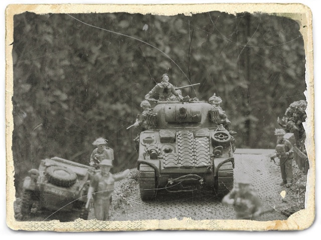 """""""Libération"""" - Belgique 1944 --- Sherman Firefly (Armourfast 1/72) + Sd.Kfz 251 (Revell 1/72) - Page 2 Libyra14"""