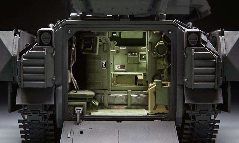 M3A3 Bradley mit Inneneinrichtung in 1:35 von Meng 14107610