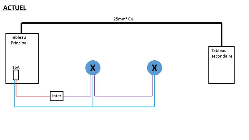 Circuit eclairage - Inter + detecteur Actuel10
