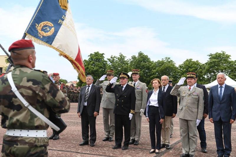 Albéric Riveta est le militaire du 1er RCP de Pamiers qui a trouvé la mort en opération au Mali Hommag10