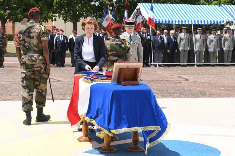 Albéric Riveta est le militaire du 1er RCP de Pamiers qui a trouvé la mort en opération au Mali Hommag13
