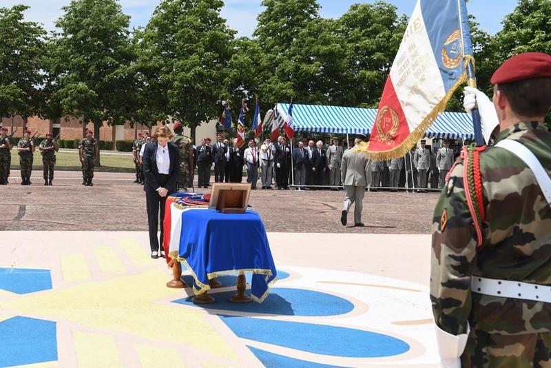Albéric Riveta est le militaire du 1er RCP de Pamiers qui a trouvé la mort en opération au Mali Hommag14