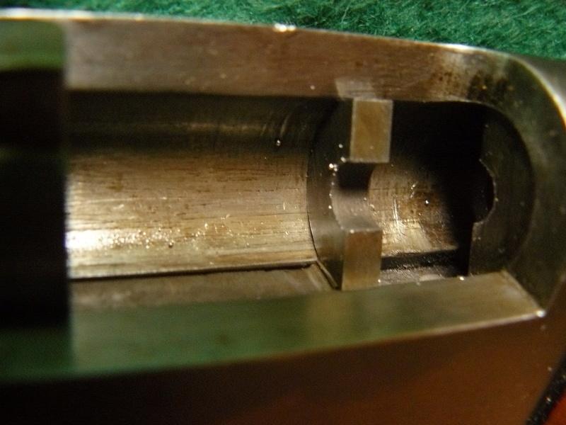 Tampon de crosse sur Lebel scolaire P1070941