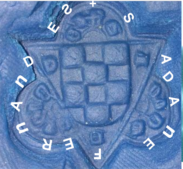 Matriz de sello medieval Cymfer10