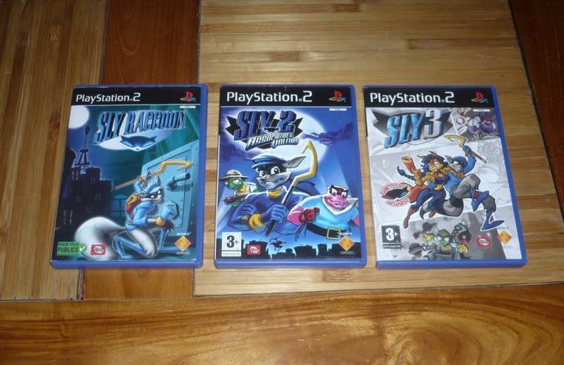 [VDS] Lot jeu ps2 devil may cry,sly raccoon,silent hill etc.. P1130525