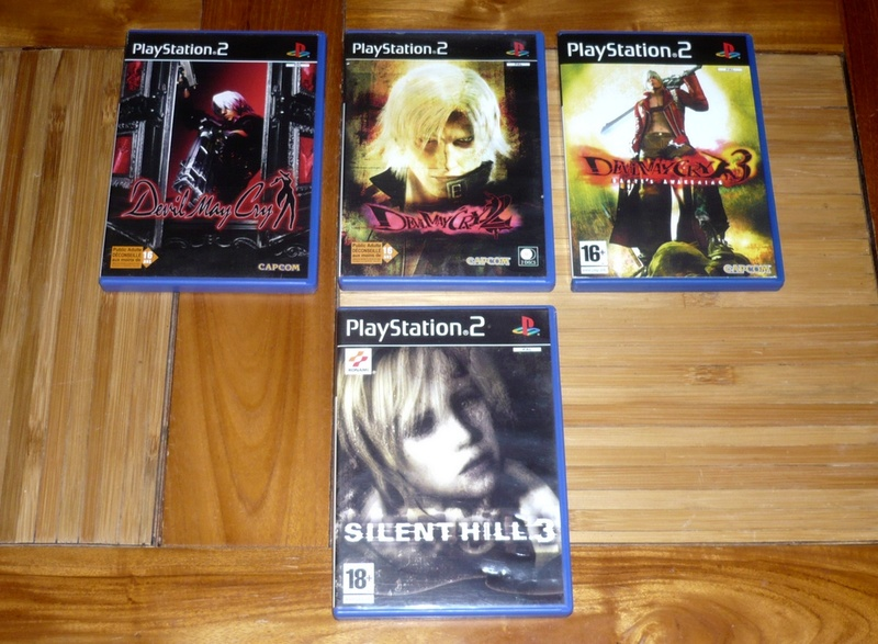 [VDS] Lot jeu ps2 devil may cry,sly raccoon,silent hill etc.. P1130527