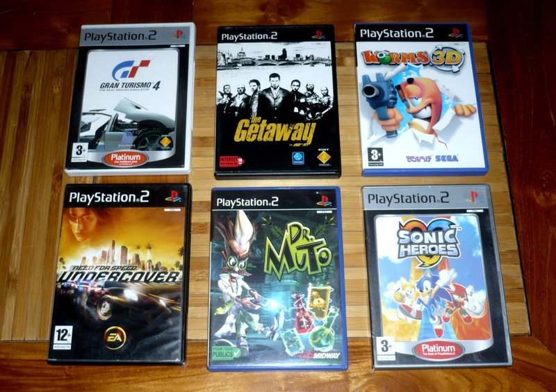 [VDS] Lot jeu ps2 devil may cry,sly raccoon,silent hill etc.. P1130528