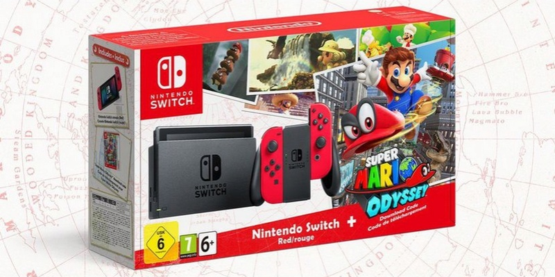Pack collector switch Mario Odyssey  Super-10