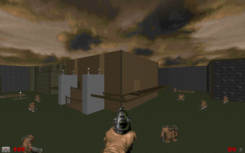 [Doom 2] Corrupted Industry Screen11