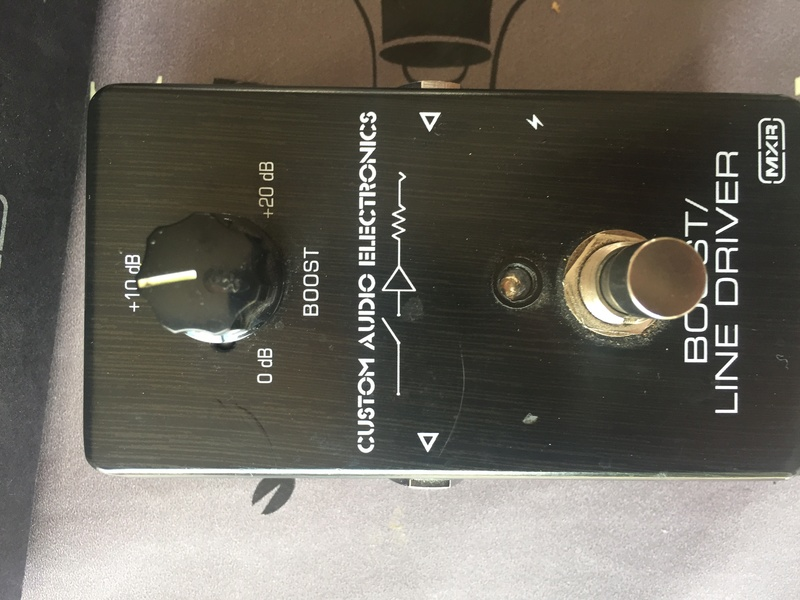 MXR CAE mc401 boost Img_9112