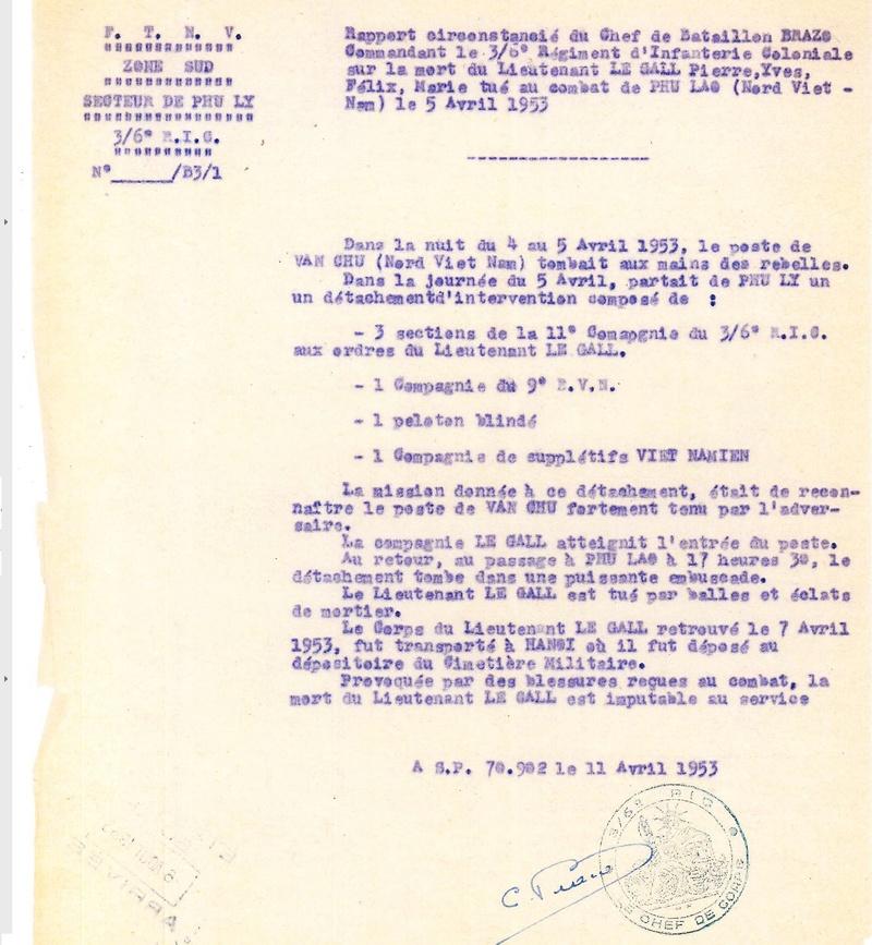 Lieutenant Pierre LE GALL III/6è RIC MPLF 1953 11953_10