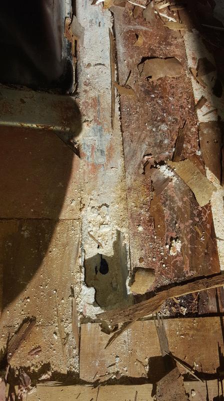 Infiltration d'eau et bris de la structure 20170943